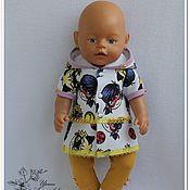 """Одежда для кукол ручной работы. Ярмарка Мастеров - ручная работа Одежда для кукол: комплект """"Леди Баг"""" для Беби Бон.. Handmade."""