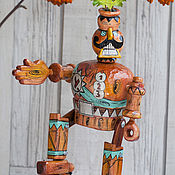 Куклы и игрушки handmade. Livemaster - original item General LAN Pirot toy wooden. Handmade.