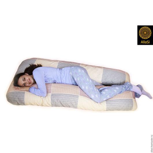 Текстиль, ковры ручной работы. Ярмарка Мастеров - ручная работа. Купить Подушка Царица для беременных и кормления младенца. Handmade.