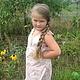 sarafan 'summer'. Dresses. 'Nezhnyj vozrast'. Online shopping on My Livemaster.  Фото №2