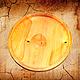 Деревянная тарелка-блюдо из древесины кедра. 34 см.T3, Тарелки, Новокузнецк,  Фото №1