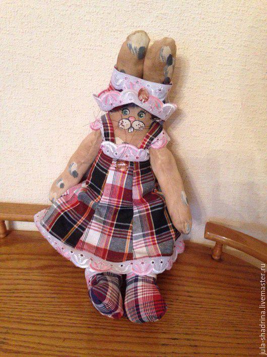 Ароматизированные куклы ручной работы. Ярмарка Мастеров - ручная работа. Купить Зайчиха. Handmade. Бежевый, игрушка ручной работы, кукла