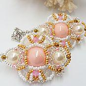 handmade. Livemaster - original item Long Flamingo pink earrings. Handmade.