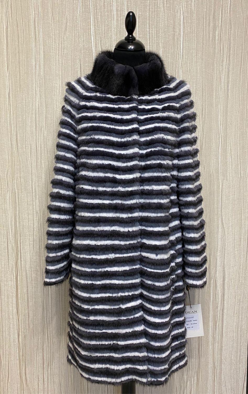 Fur mink coat ' EXCLUSIVE BLUE', Coats, Moscow,  Фото №1