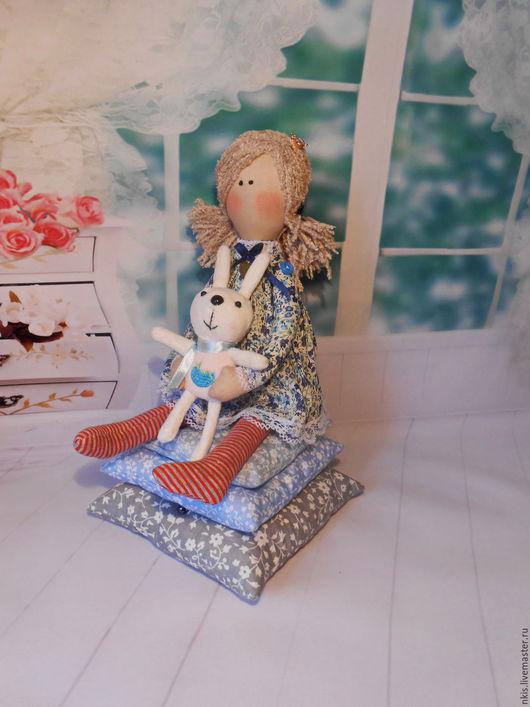 Сказочные персонажи ручной работы. Ярмарка Мастеров - ручная работа. Купить Принцесса на горошине.. Handmade. Комбинированный, принцесса тильда, щенок