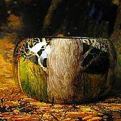 Украшения ручной работы. Ярмарка Мастеров - ручная работа браслет Сказки белого дерева. Handmade.
