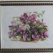 Картины и панно handmade. Livemaster - original item lilac. Handmade.