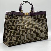 Винтаж handmade. Livemaster - original item Vintage bags: Women`s Stylish Fendi Handbag. Handmade.