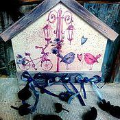 """Для дома и интерьера ручной работы. Ярмарка Мастеров - ручная работа Ключница """"Рандеву"""". Handmade."""
