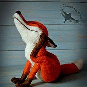 """Куклы и игрушки ручной работы. Ярмарка Мастеров - ручная работа Лисичка """"Фокси"""" (Skia) Валяная игрушка. Handmade."""
