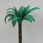 Материалы для творчества ручной работы. Ярмарка Мастеров - ручная работа Дерево для макета или кукольного сада - пальма. Handmade.