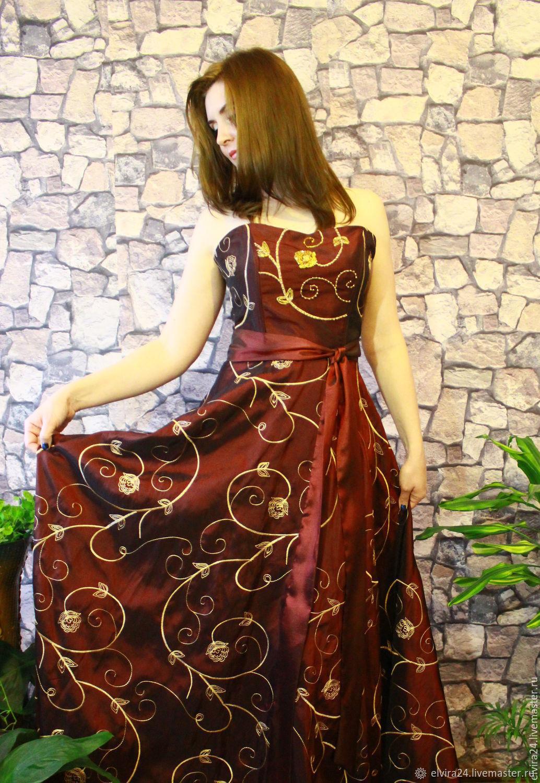 Evening dress ' Golden flower', Dresses, Kaliningrad,  Фото №1