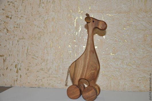 Игрушки животные, ручной работы. Ярмарка Мастеров - ручная работа. Купить Жирафа ,,Саванна,,-  деревянная. Handmade. Бежевый, жирафик