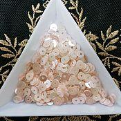 Материалы для творчества handmade. Livemaster - original item India sequins 4mm pink. Handmade.