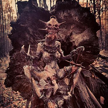 Субкультуры ручной работы. Ярмарка Мастеров - ручная работа Shaman of the dead - Bloody sun!. Handmade.