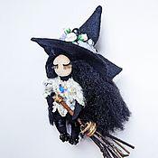 Брелок ручной работы. Ярмарка Мастеров - ручная работа Брелок ведьмочка. Handmade.
