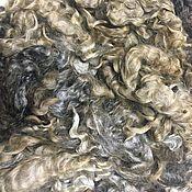 Флис Линкольн Серебристо-серый Новозеландский. 50 гр.
