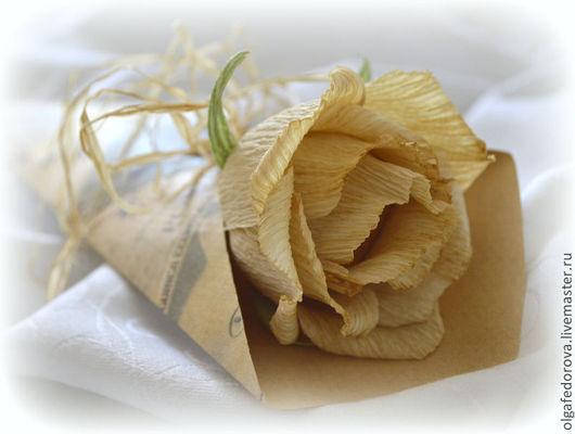Букеты ручной работы. Ярмарка Мастеров - ручная работа. Купить Цветок в винтажном стиле. Handmade. Букет из конфет