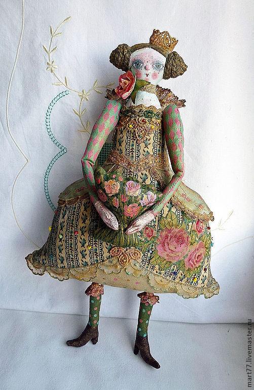 """Коллекционная кукла ручной работы. """"Принцесса"""". Olga Mart. Ярмарка Мастеров."""