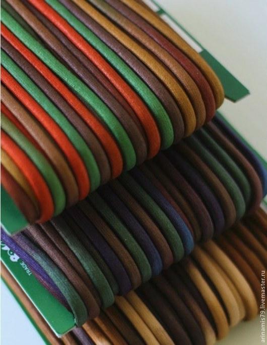 Шитье ручной работы. Ярмарка Мастеров - ручная работа. Купить Шнур вощеный Йоко Саито. 5 мм D для кулисок, рюкзаков, молний.. Handmade.