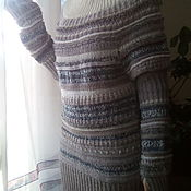 """Одежда ручной работы. Ярмарка Мастеров - ручная работа Туника """"Оттепель"""". Handmade."""