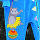 """Одежда для девочек, ручной работы. Велюровый комбинезон на подкладе """"Звездочка цирка"""". Миронушка     (Виктория Супрун). Ярмарка Мастеров. Морской котик"""