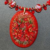 Украшения ручной работы. Ярмарка Мастеров - ручная работа In Red. Handmade.