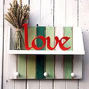 Для дома и интерьера ручной работы. Ярмарка Мастеров - ручная работа Полосаты полочки для мелочей. Handmade.