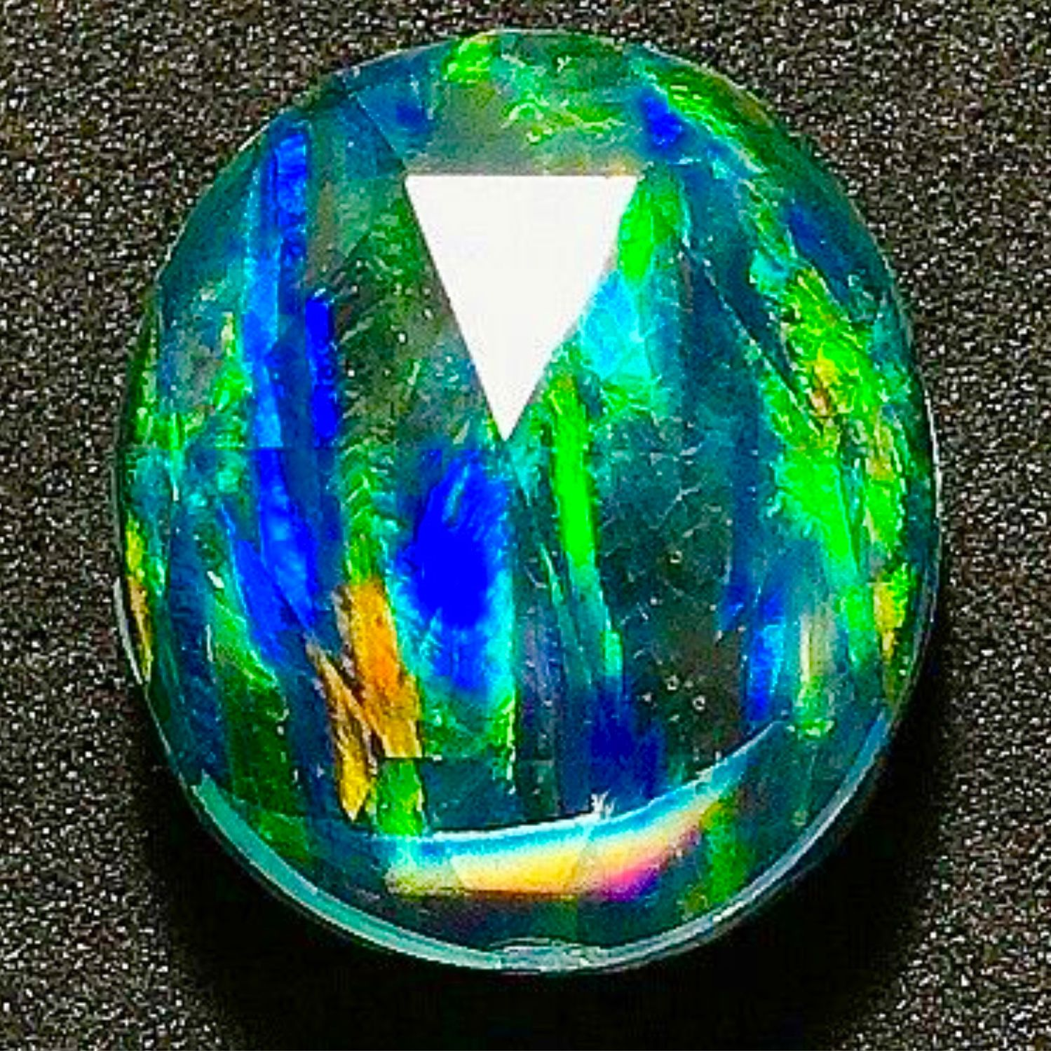 Opal 'Northern lights' triplet, Cabochons, Moscow,  Фото №1