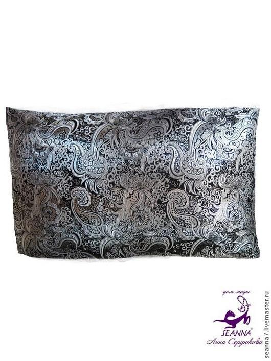 """Текстиль, ковры ручной работы. Ярмарка Мастеров - ручная работа. Купить Эко-подушка с лузгой, полностью натуральная """"Восток"""" 40х60 см. Handmade."""