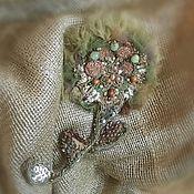 handmade. Livemaster - original item Russian Meadows Brooch. Handmade.