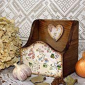 """Для дома и интерьера ручной работы. Ярмарка Мастеров - ручная работа """"Травы"""" Короб для специй. Handmade."""