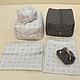 сумка для мамы и малыша, сумка для коляски, комплект чехольчиков и косметичек для мамы и малыша. Мастер Сечкина Юлия http://www.livemaster.ru/v-dome-radosti