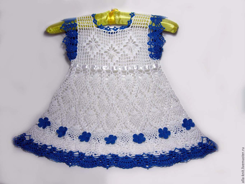 Поиск на Постиле: Платье спицами для девочки 34