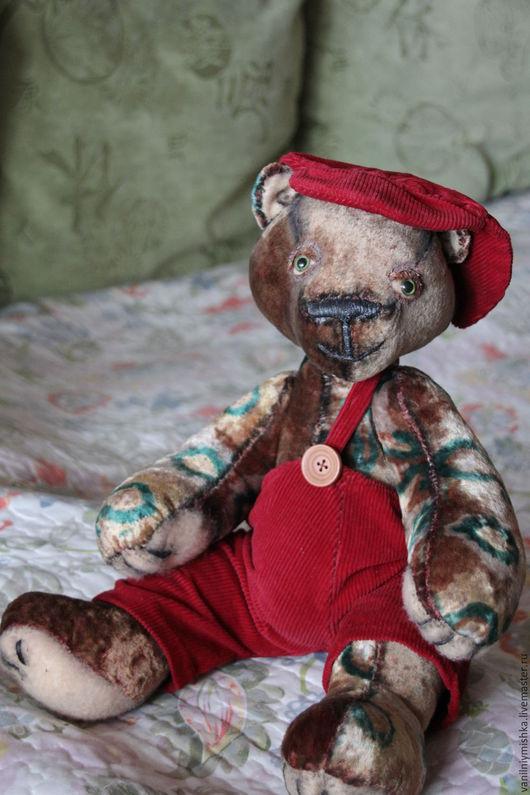 Мишки Тедди ручной работы. Ярмарка Мастеров - ручная работа. Купить мишка Кузьмич. Handmade. Коричневый, винтажный мишка