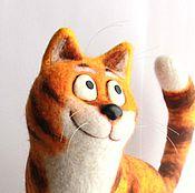 Куклы и игрушки ручной работы. Ярмарка Мастеров - ручная работа Рыжий кот Борис. Handmade.