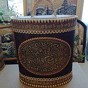 Подарки к праздникам handmade. Livemaster - original item Box large embroidered
