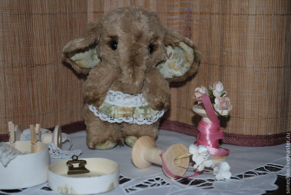Слоняшка Сонечка, Мягкие игрушки, Енакиево,  Фото №1
