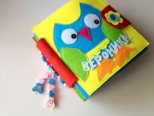 Развивающие игрушки ручной работы. Ярмарка Мастеров - ручная работа. Купить Развивающая книжка. Handmade. Развивающая игрушка, развитие речи