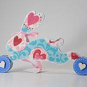 Для дома и интерьера ручной работы. Ярмарка Мастеров - ручная работа Интерьерное украшение. Игрушка на колесах. Handmade.