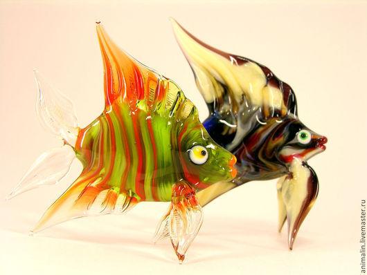Статуэтки ручной работы. Ярмарка Мастеров - ручная работа. Купить Стеклянная фигурка  Сакральная рыба Ши. Handmade. Рыба, рыбаку