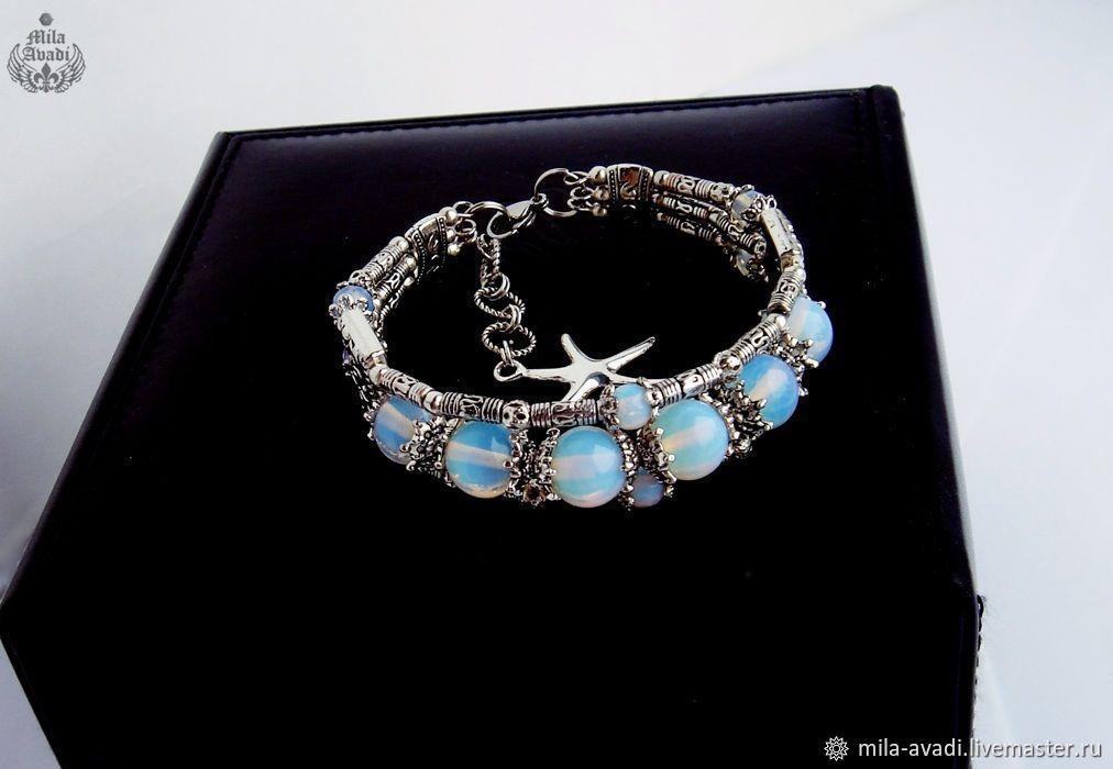 bc161f9c30 ... Bracelets handmade. handmade bracelet Opalite Shambhala Tibetan.  Exclusive jewelry (mila-avadi) ...