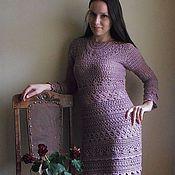 """Одежда ручной работы. Ярмарка Мастеров - ручная работа Вязаное платье """"Отцвели уж давно.. """". Handmade."""