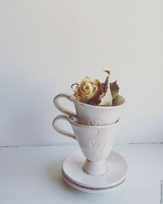 """Кружки и чашки ручной работы. Ярмарка Мастеров - ручная работа. Купить """" Именные...."""". Handmade. Белый, Керамика, глазурь"""