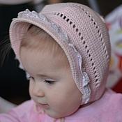 """Работы для детей, ручной работы. Ярмарка Мастеров - ручная работа Вязанная шапочка для девочки """"маленькая барышня"""". Handmade."""