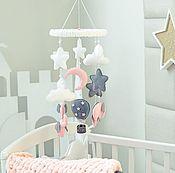 Элементы интерьера ручной работы. Ярмарка Мастеров - ручная работа Мобиль на детскую кроватку. Handmade.