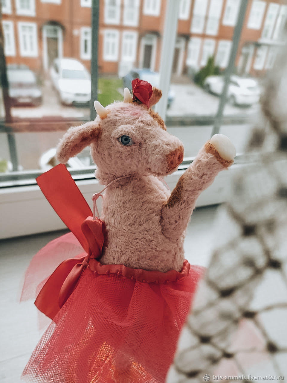 Toy Calf - ballerina, Teddy Toys, Moscow,  Фото №1