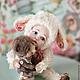 Коллекционные куклы ручной работы. Малыш со своим мишкой... Юлия Мартынова (gooddollsmaster). Интернет-магазин Ярмарка Мастеров. Малыш