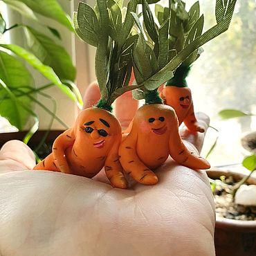 Сувениры и подарки ручной работы. Ярмарка Мастеров - ручная работа Любовь морковь. Handmade.