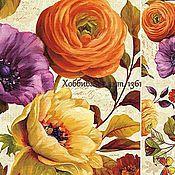 Салфетки для декупажа ручной работы. Ярмарка Мастеров - ручная работа 6 видов Декупажные карты Цветы. Handmade.